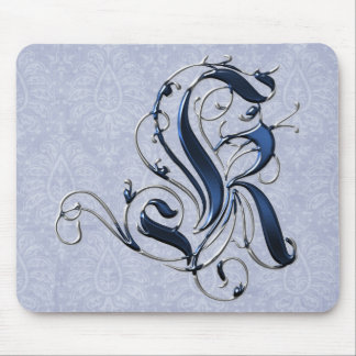 Vintage Initial K Mouse Pad