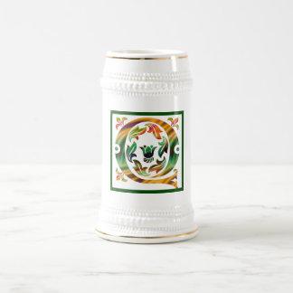 Vintage Initial Q - Monogram Q Coffee Mugs