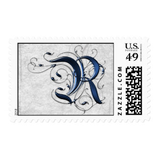 Vintage Initial R Stamp