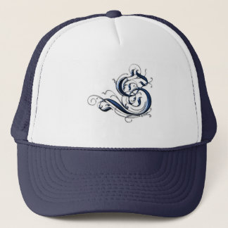 Vintage Initial S Trucker Hat