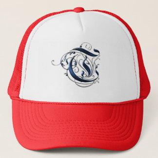 Vintage Initial T Trucker Hat