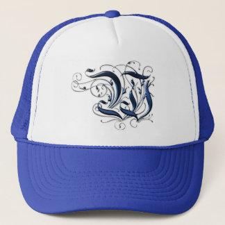 Vintage Initial W Trucker Hat