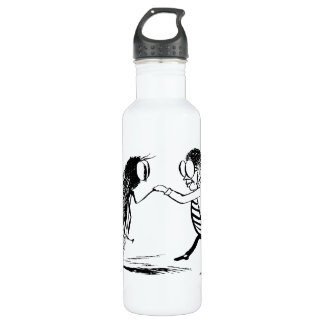 Vintage Insects Dancing; Bluebottle Fly Stainless Steel Water Bottle