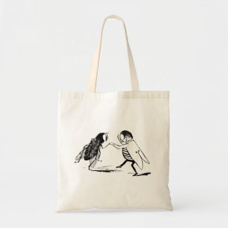 Vintage Insects Dancing; Bluebottle Fly Tote Bag