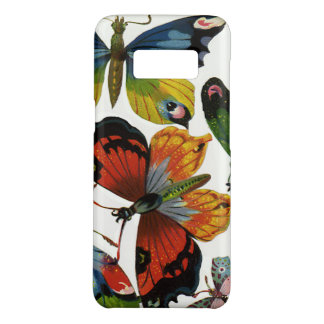 Vintage Insects or Bugs, Beautiful Butterflies Case-Mate Samsung Galaxy S8 Case