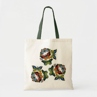 Vintage Insects or Bugs, Beautiful Butterflies Tote Bag