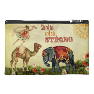 Vintage Inspirational Dancer Travel Accessory Bags