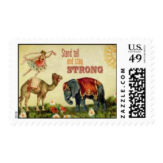 Vintage Inspirational Dancer Stamps