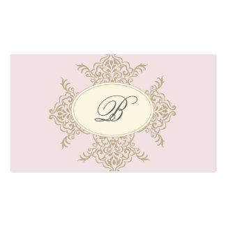 {vintage inspired} business card