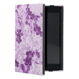 Vintage Inspired Floral Mauve iPad Mini Case