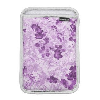 Vintage Inspired Floral Mauve iPad Mini Sleeve