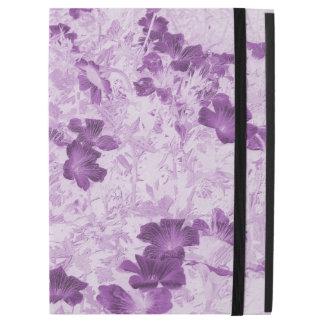 Vintage Inspired Floral Mauve iPad Pro Case