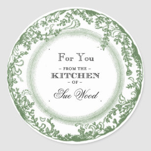 from the kitchen of stickers zazzle