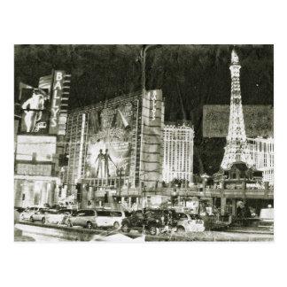 Vintage Inspired Las Vegas Postcard