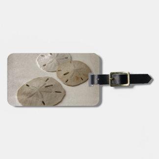 Vintage Inspired Sand Dollars Bag Tag