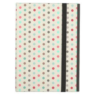 Vintage Inspired Small Polka Dots Pattern iPad Air Case