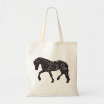 Vintage-inspired Trotting Horse Tote