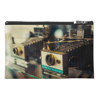 Vintage Instant Cameras in 1970s Travel Accessories Bags