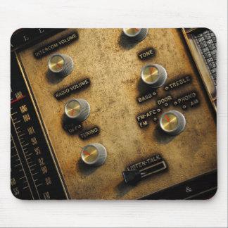 Vintage Intercom Photograph Mouse Pad