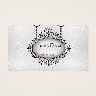 Vintage Interior Studio Pearl Ornament Card