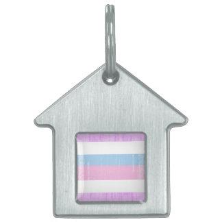 Vintage Intersexed Pride.png Placa De Mascota
