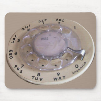 Vintage Ipad Texting Machine Mouse Pad