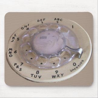 Vintage Ipad Texting Machine Mouse Pad