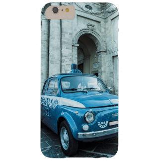 Vintage iphone6 retro del coche policía de Fiat Funda Para iPhone 6 Plus Barely There