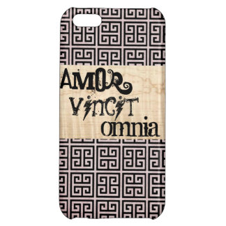 Vintage iPhone 5 Case: Love Conquers All iPhone 5C Cases