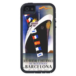 Vintage iPhone duro de Barcelona, España Xtreme 5 iPhone 5 Case-Mate Protector