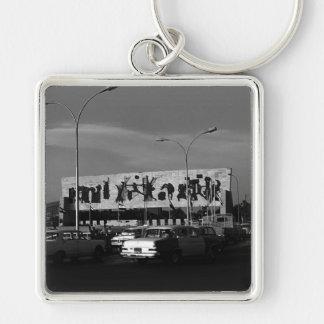 Vintage Iraq Baghdad tahrir square 1970 Keychain