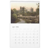 Vintage Ireland, antique Irish images calendar