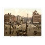 Vintage Ireland postcard, Sackville Street Dublin Postcard