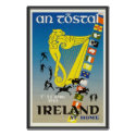 An Tostal 1955 - Land of Legend, vintage Ireland travel print
