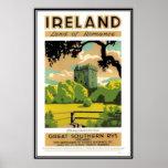 Vintage Ireland - Poster