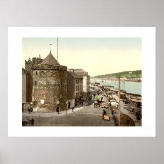 Vintage Ireland Reginalds Tower Waterford Poster