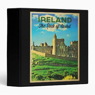Vintage Ireland Rock Of Cashel Binder