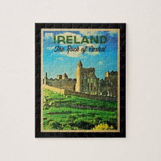 Vintage Ireland Rock Of Cashel Puzzle
