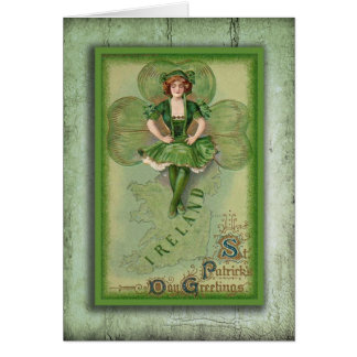 Vintage Ireland Stationery Note Card