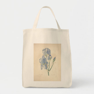 Vintage Iris by Redoute - Grocery Bags