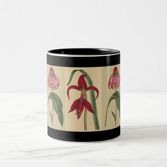 Vintage Iris & Rudbeckia Mug
