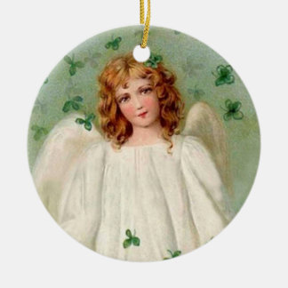 Vintage Irish Angel ornament