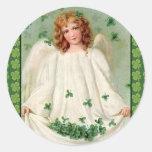 Vintage Irish Angel sticker