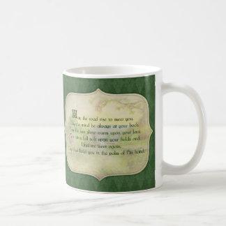 Vintage Irish Blessing Coffee Mug