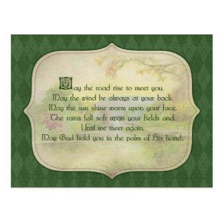 Vintage Irish Blessing Post Cards