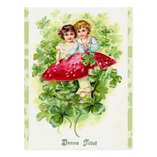 Vintage Irish Bonne Fefel Greetings Postcard