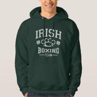 Vintage Irish Boxing Team (Distressed) Hoodie