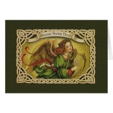 Vintage Irish Christmas Greeting Card at Zazzle