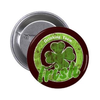 Vintage Irish Drinking Team Pin