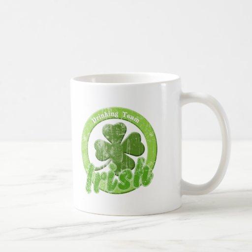 Vintage Irish Drinking Team Mug